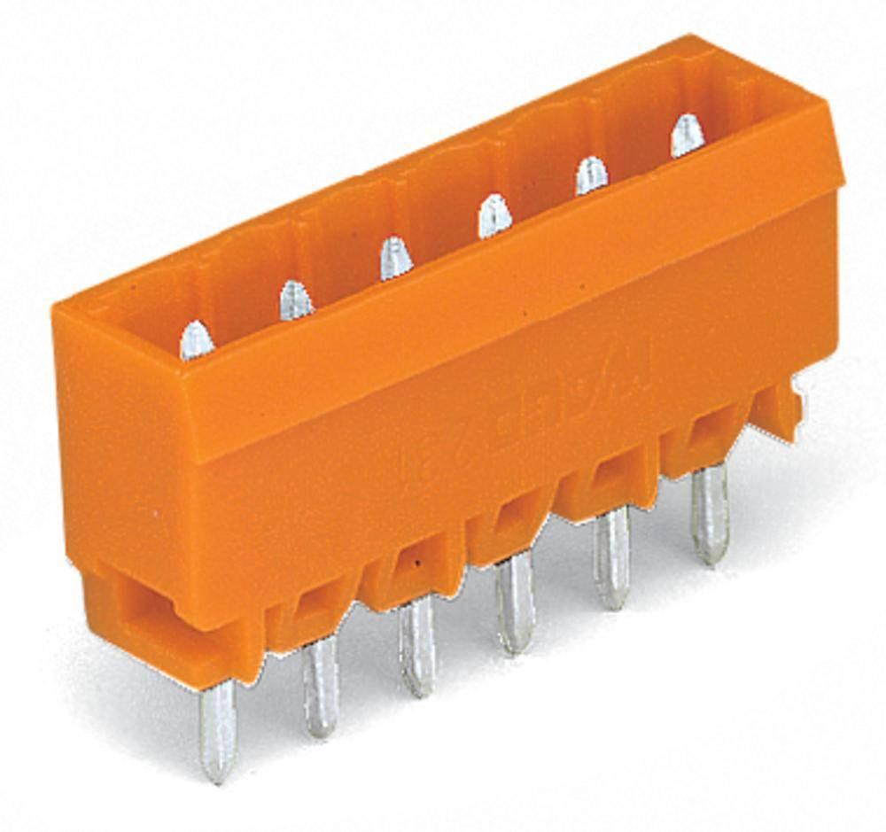 Pinski konektor (Standard) 300 št. polov skupaj 10 WAGO 231-340/001-000 mere: 5.08 mm 100 kosov