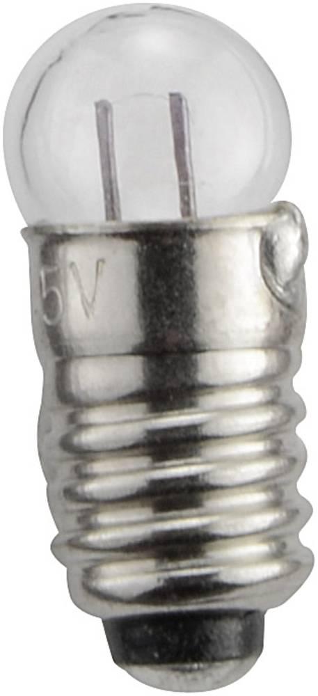Lestvična žarnica E 5.5 0.36 W podnožje=E5.5 40 mA 9 V prozorna Barthelme vsebina: 1 kos