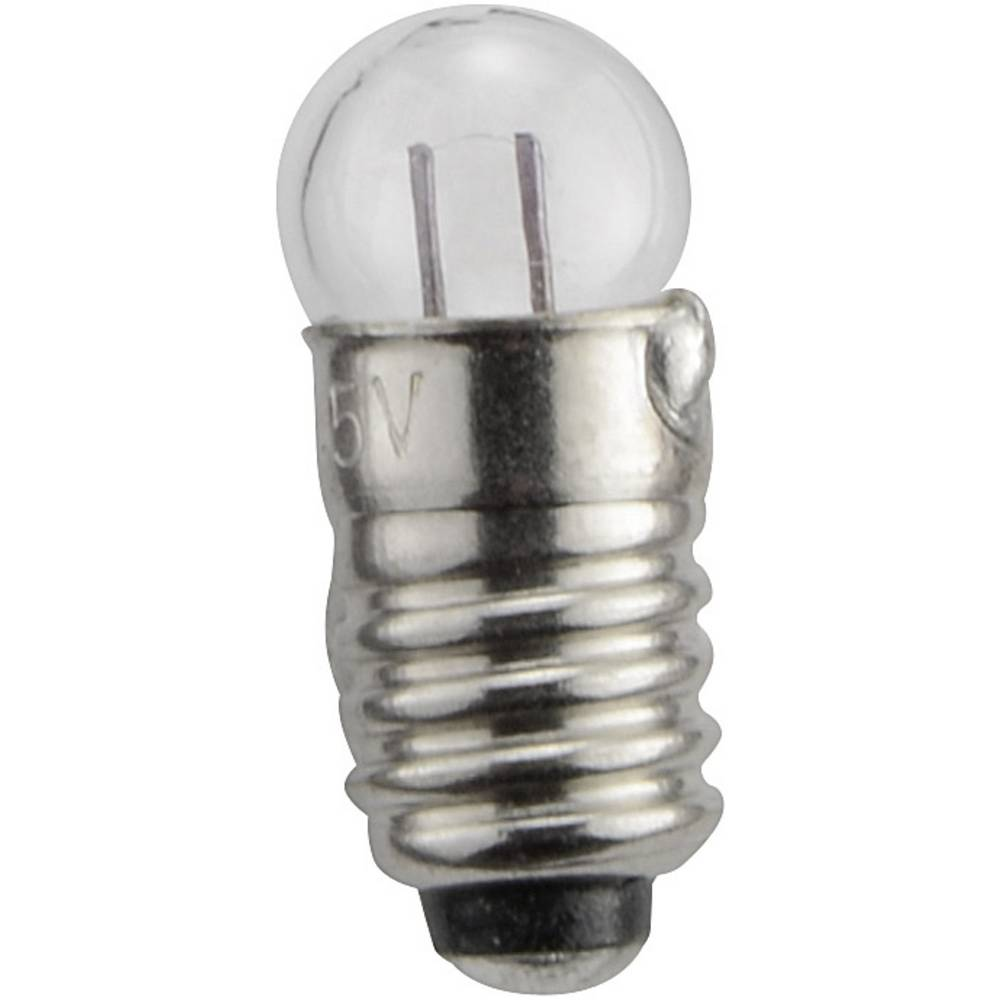 Lestvična žarnica E 5.5 0.15 W podnožje=E5.5 100 mA 1.5 V prozorna Barthelme vsebina: 1 kos
