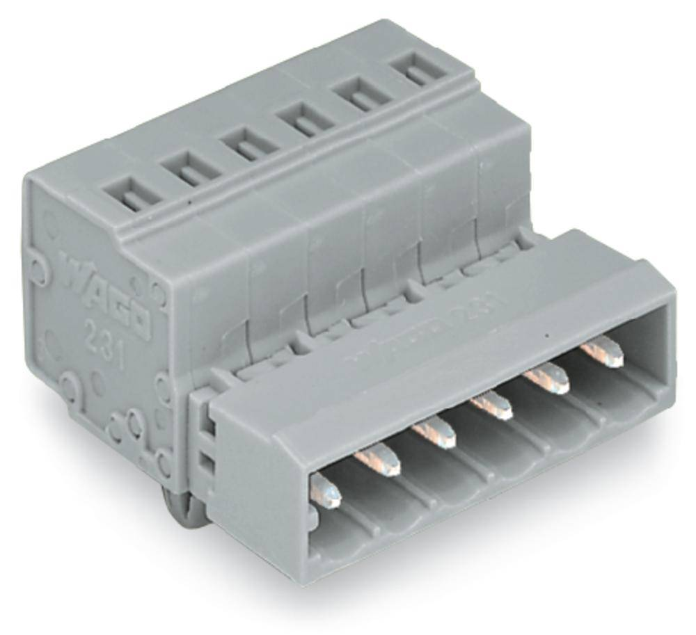 Pinski konektor (Standard) 300 št. polov skupaj 22 WAGO 231-622/018-000 mere: 5 mm 10 kosov