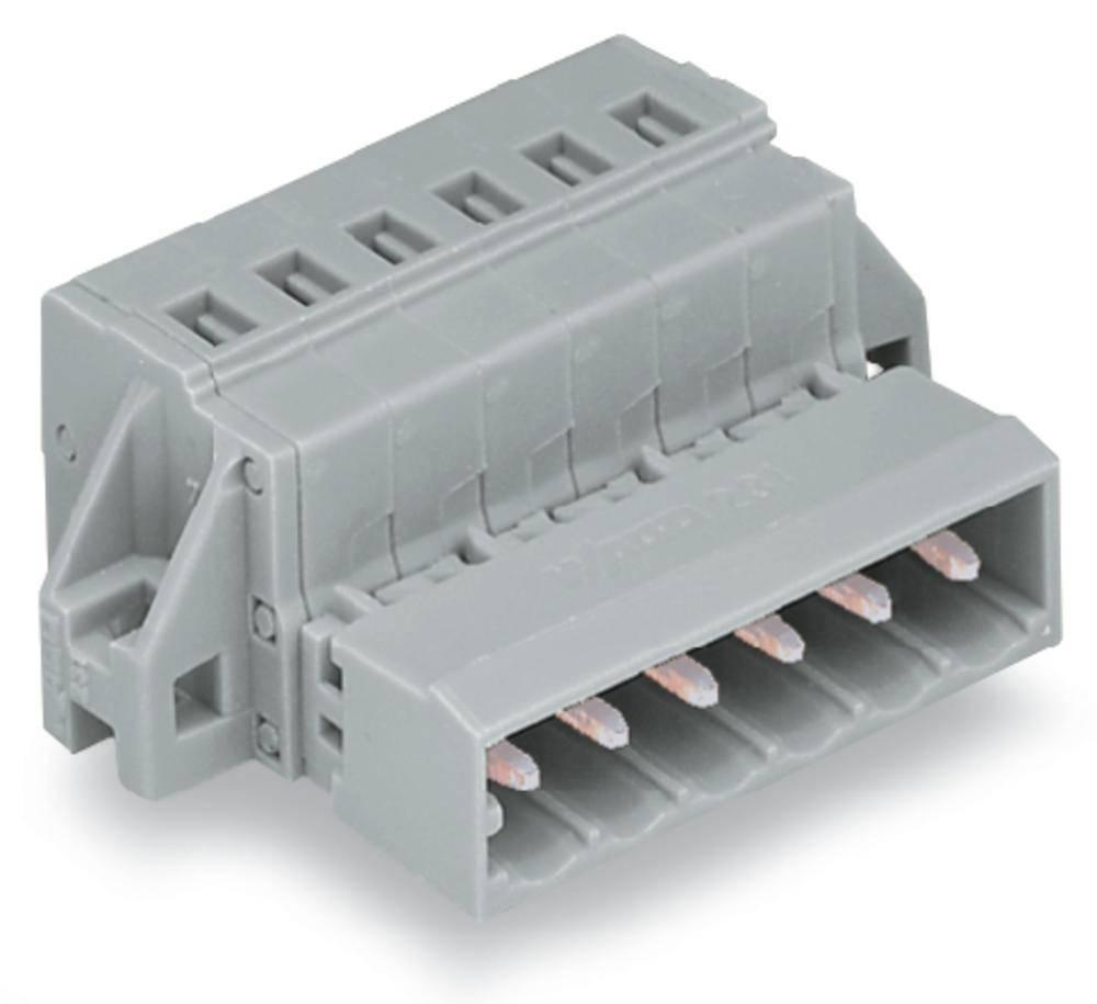 Pinski konektor (Standard) 300 št. polov skupaj 20 WAGO 231-620/019-000 mere: 5 mm 10 kosov