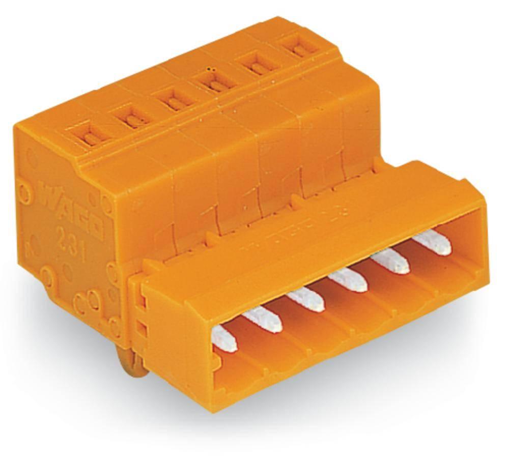 Pinski konektor (Standard) 300 št. polov skupaj 2 WAGO 231-632/018-000 mere: 5.08 mm 100 kosov