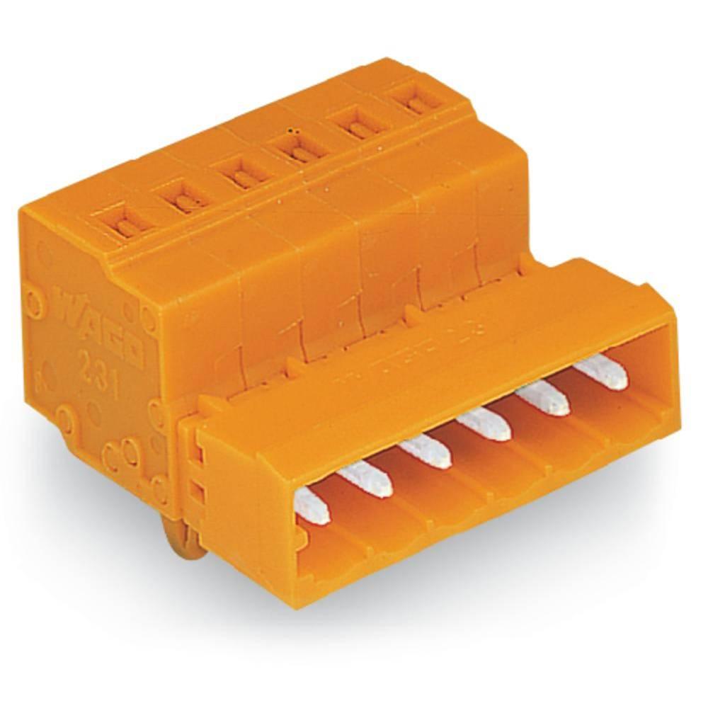 Pinski konektor (Standard) 300 št. polov skupaj 4 WAGO 231-634/018-000 mere: 5.08 mm 100 kosov