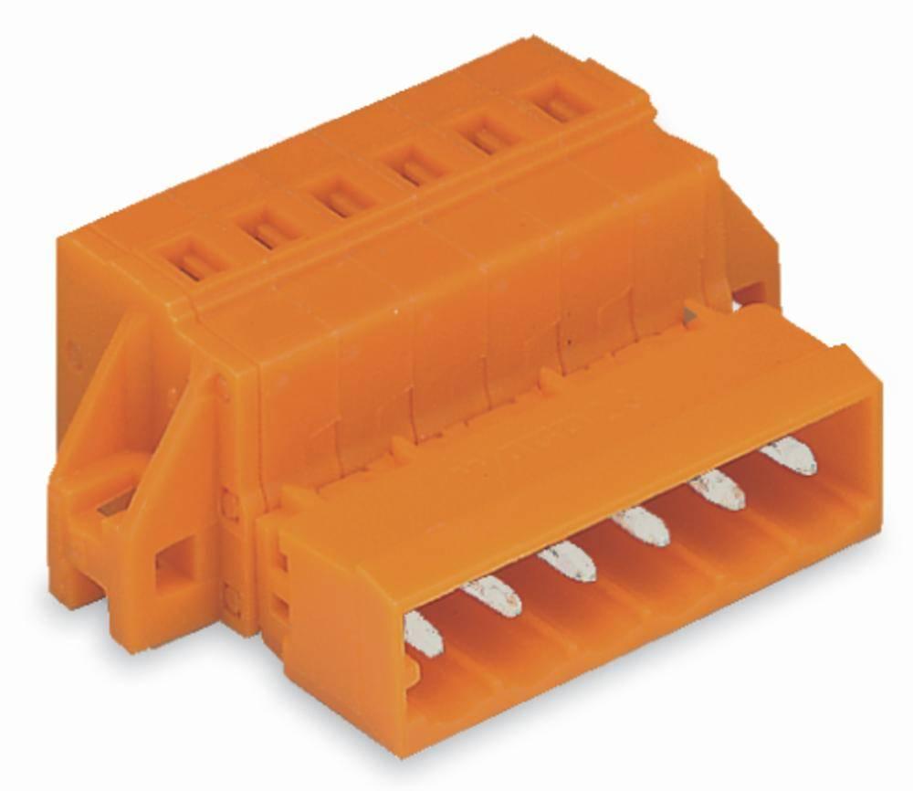 Pinski konektor (Standard) 300 št. polov skupaj 14 WAGO 231-644/019-000 mere: 5.08 mm 25 kosov