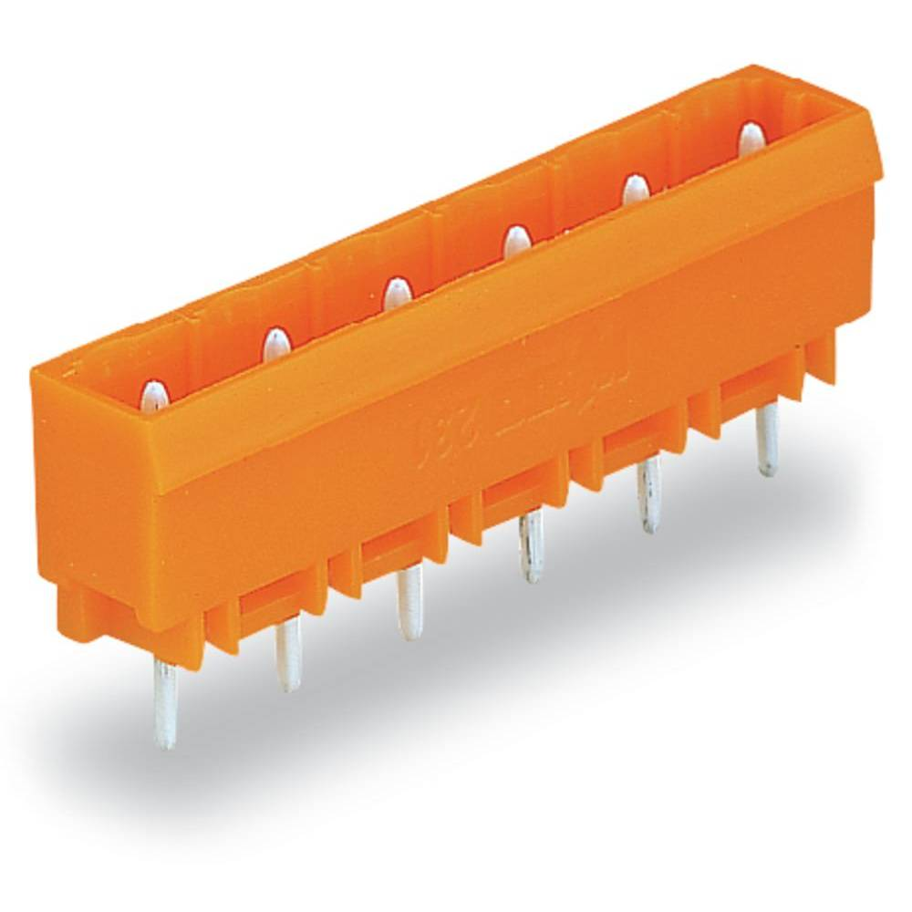 Pinski konektor (Standard) 300 št. polov skupaj 8 WAGO 231-738/001-000 mere: 7.62 mm 50 kosov