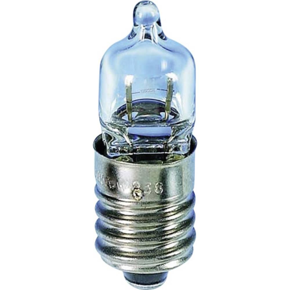 Minijaturna halogena žarulja 4.8 V 4.8 W 1 A podnožje=E10 prozirna Barthelme sadržaj: 1 kom.
