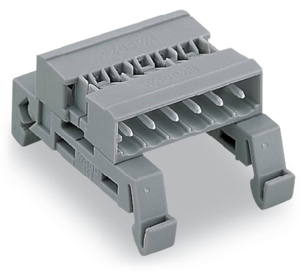 Forbindelsesstiftliste 301 Samlet antal poler 2 WAGO 232-502/007-000 Rastermål: 5 mm 100 stk