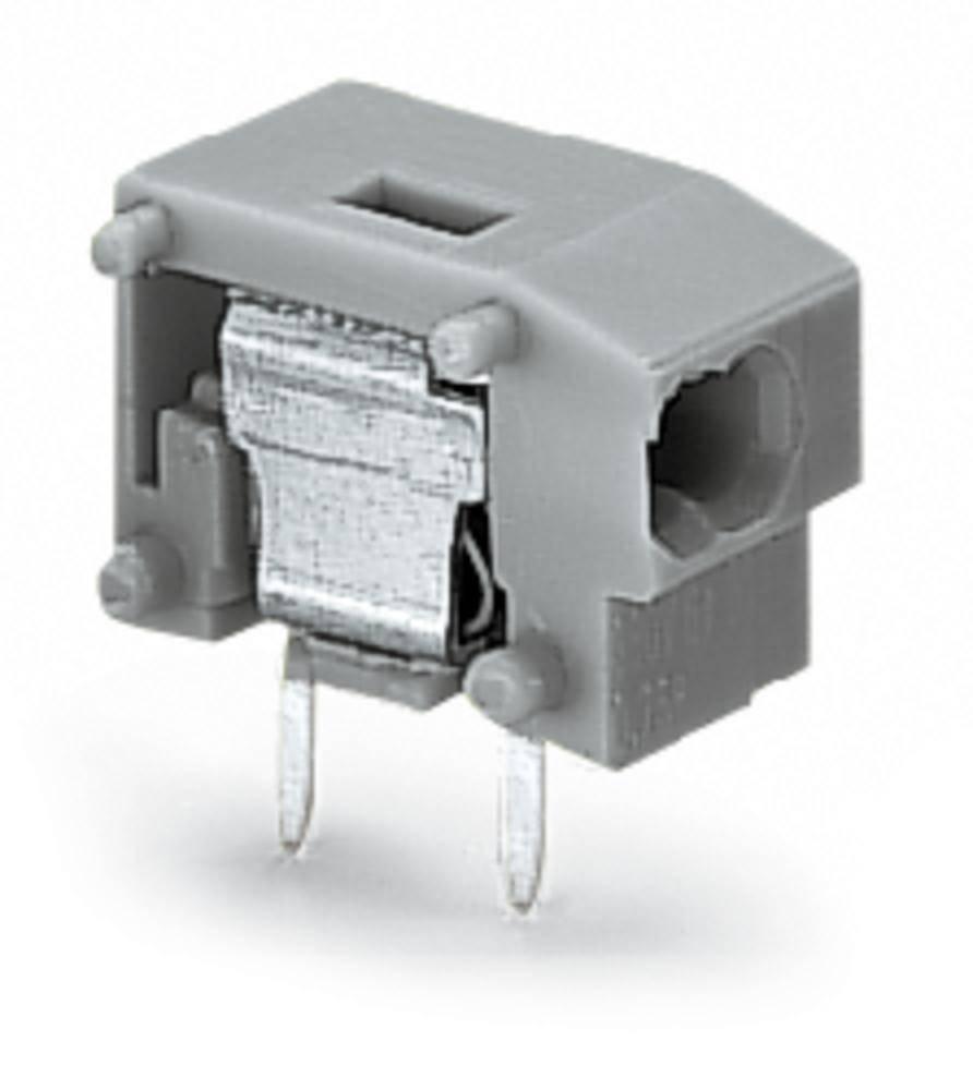 Fjederkraftsklemmeblok WAGO 0.34 mm² Poltal 1 Grå 600 stk