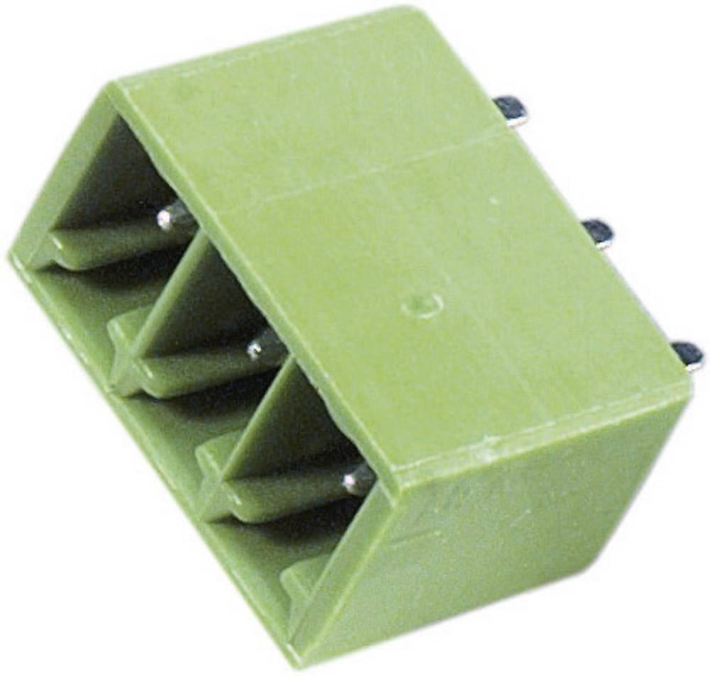 Vertikalni večpinski konektor,serije STL(Z)1550-V, raster:3.81 mm 9 A, zelen, PTR 51550085125D
