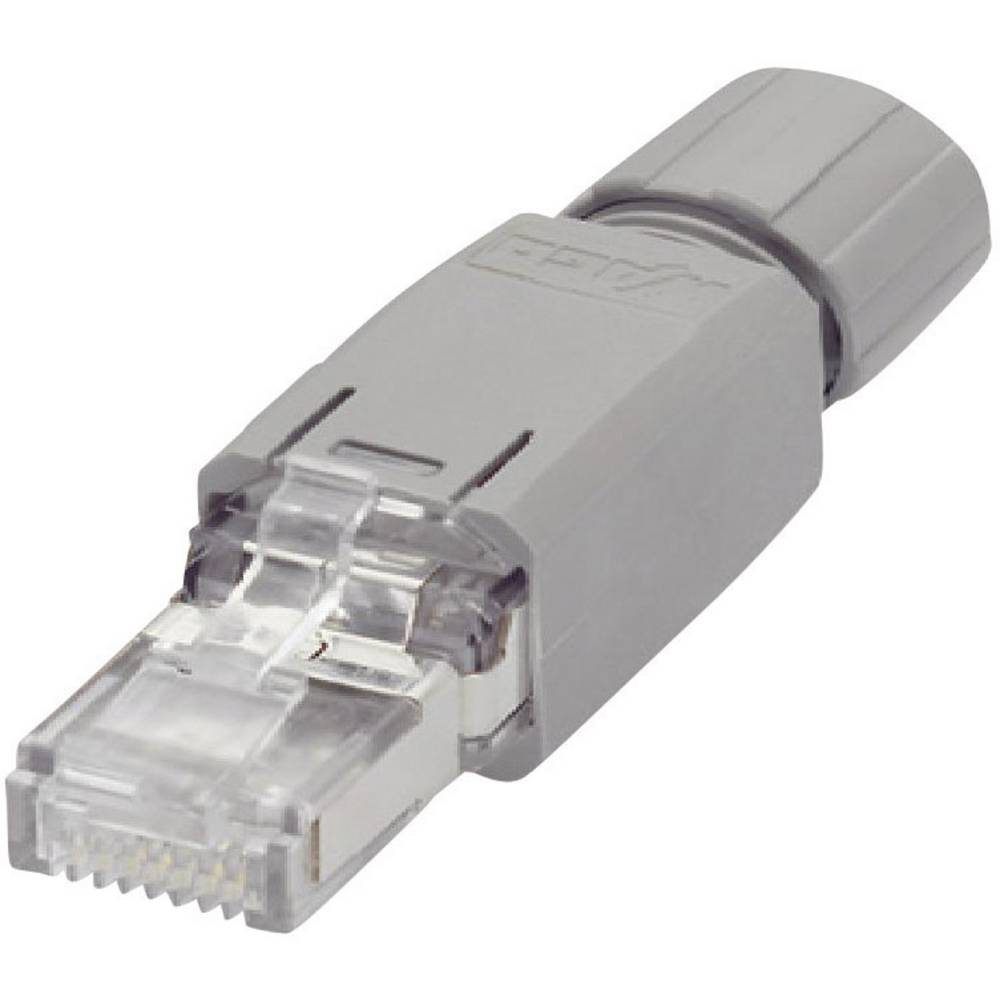 WAGO 750-975 RJ45-Plug Connector IP20 - CAT5e 8 RJ45 Plug, straight ...