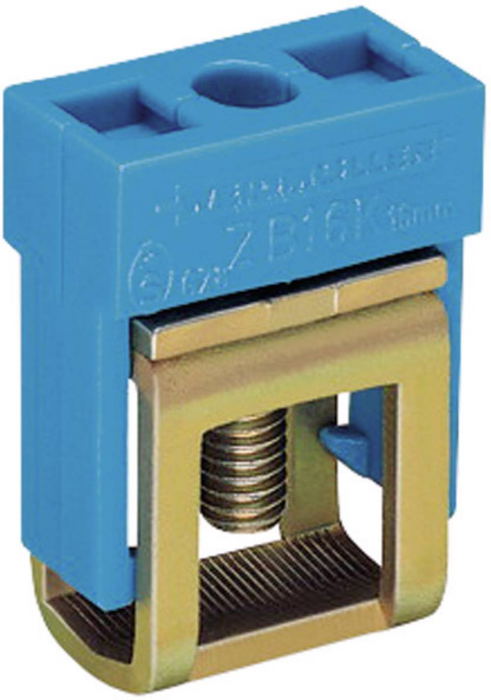 WAGO 210-281 Connection Terminal Compatible with: N-bus rail