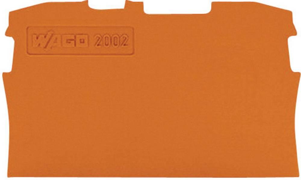 Endeplade til serie 2001 og 2002 WAGO 1 stk