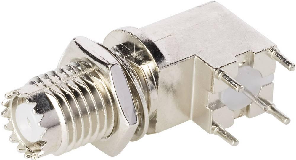 Mini-UHF-stikforbindelse BKL Electronic 407028 50 Ohm Tilslutning, vinklet 1 stk