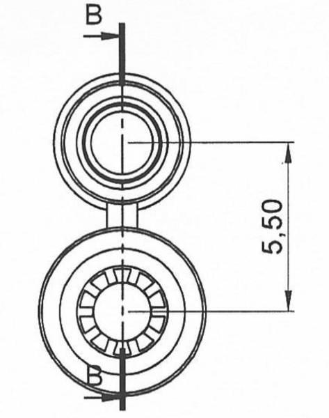 Schnepp Jack plug set Plug, straight, Socket, straight Pin