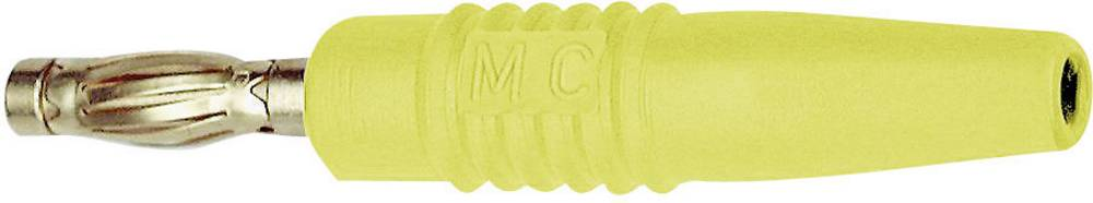 Lamelstik Stik, lige Stäubli SLS425-L 4 mm Gul 1 stk