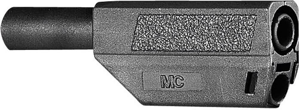 Lamelstik Stik, lige Stäubli SLS425-SE/Q/N 4 mm Sort 1 stk