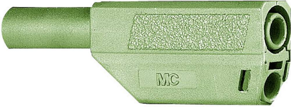 Lamelstik Stik, lige Stäubli SLS425-SE/Q/N 4 mm Grøn 1 stk