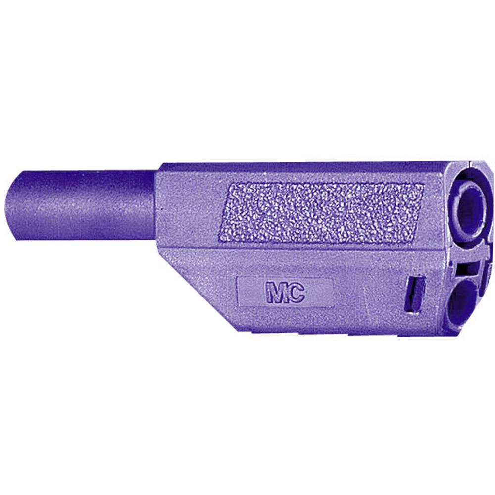 Lamelstik Stik, lige Stäubli SLS425-SE/Q/N 4 mm Violet 1 stk