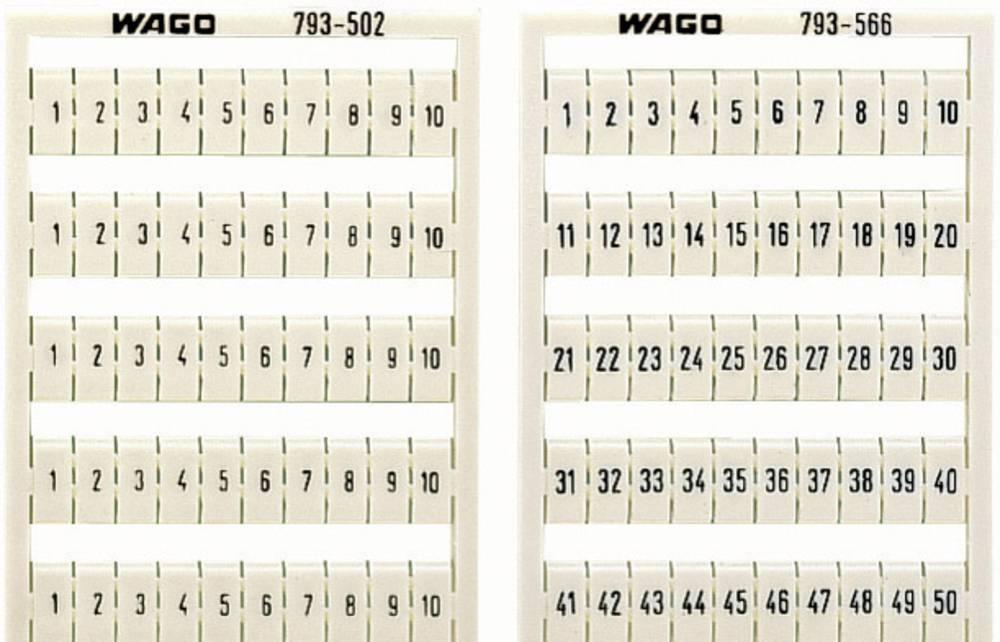 WMB-label-kort WAGO 1 stk