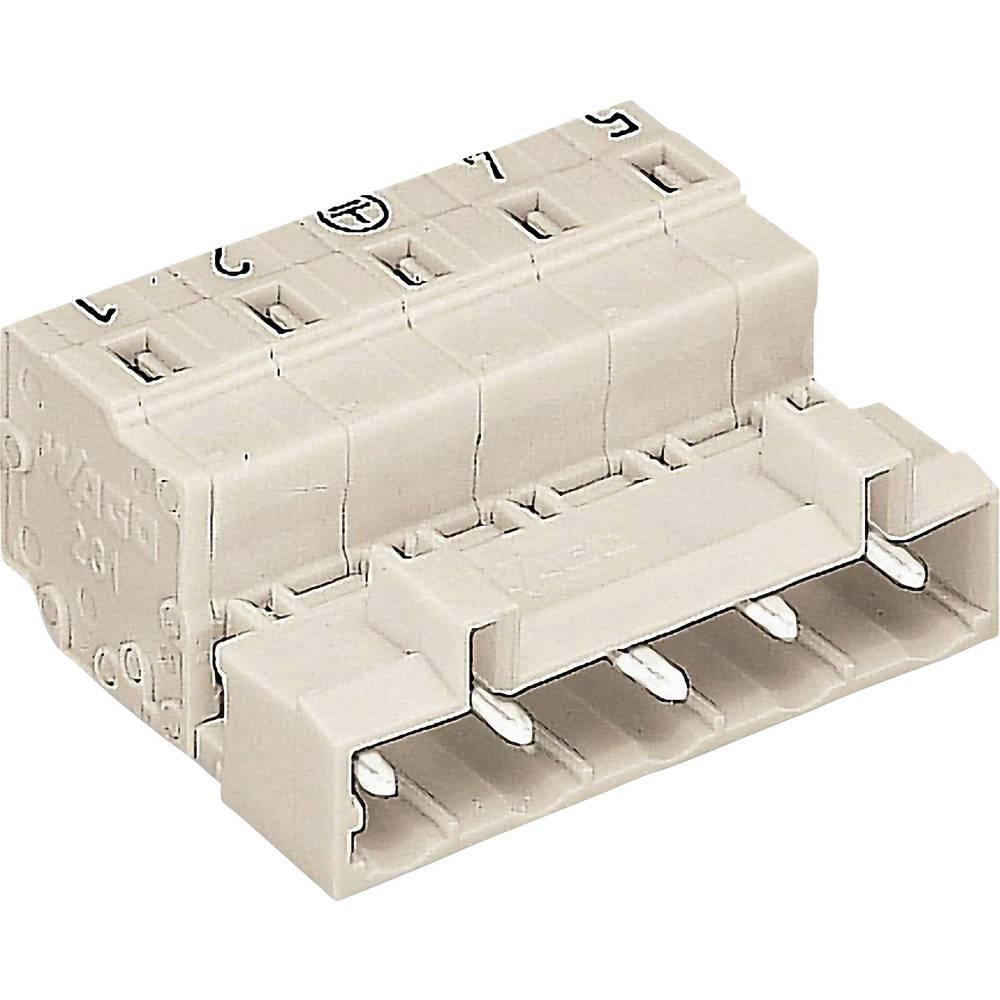 Tilslutningskabinet-printplade 721 Samlet antal poler 5 WAGO 721-835/001-000 Rastermål: 7.50 mm 1 stk