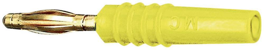 Lamelstik Stik, lige Stäubli SLS205-L 2 mm Gul 1 stk