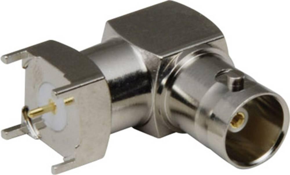 Ženski konektor BNC za tiskanovezje 90° BKL Electronic 401110