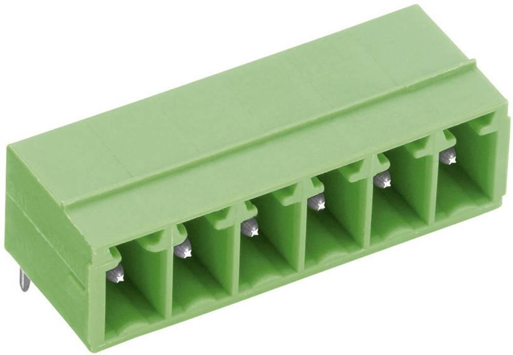 Stiftkabinet-printplade STL(Z)1550 Samlet antal poler 6 PTR 51550065001E Rastermål: 3.50 mm 1 stk