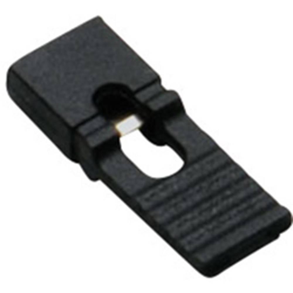 Kortslutningsbro Rastermål: 2.54 mm Poltal hver række:2 BKL Electronic 10120192 Indhold: 1 stk