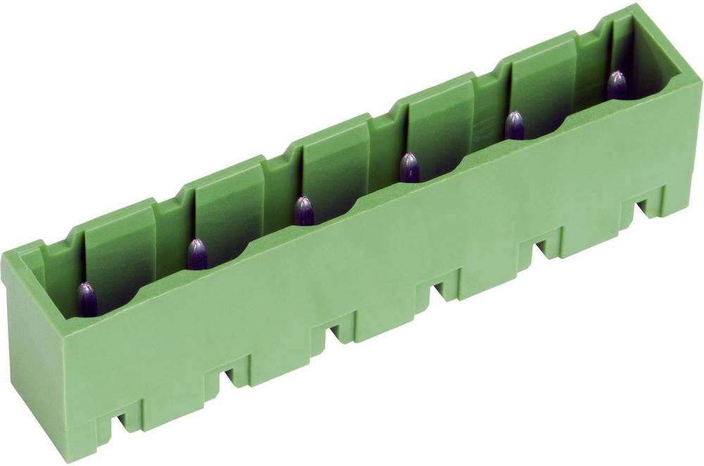 Letev z moškimi kontakti PTR STLZ960, 50960065121D, 7,62 mm, 12 A/15 A, poli: 6, zelena