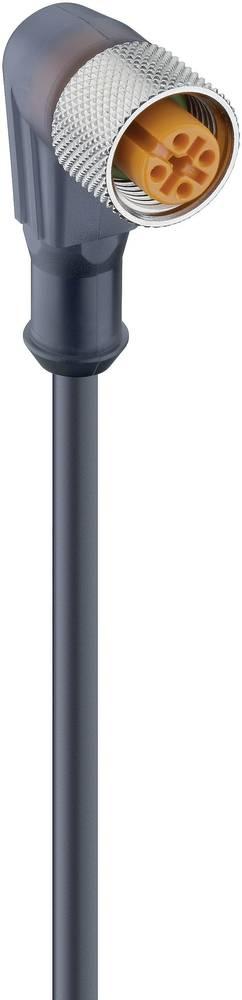 Aktuatorsko-senzorski priključni kabel, M12-vtič, raven št.polov: 3 RKWT 4-3-224/5 M Lumberg Automation vsebina: 1 kos