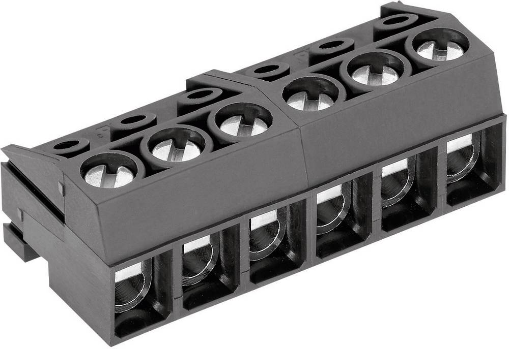 Tilslutningskabinet-kabel AK130 Samlet antal poler 10 PTR 50130100001E Rastermål: 5 mm 1 stk