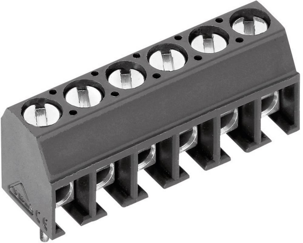 Skrueklemmeblok PTR AK550/3DS-3.5-V 1.00 mm² Poltal 3 Grå 1 stk