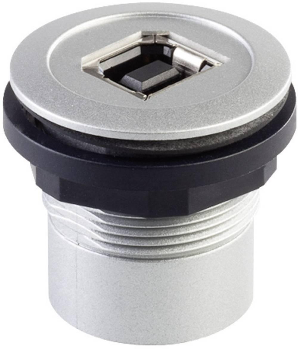 USB vgradna vtičnica 2.0 RRJ_USB_BB, kovinska, Schlegel