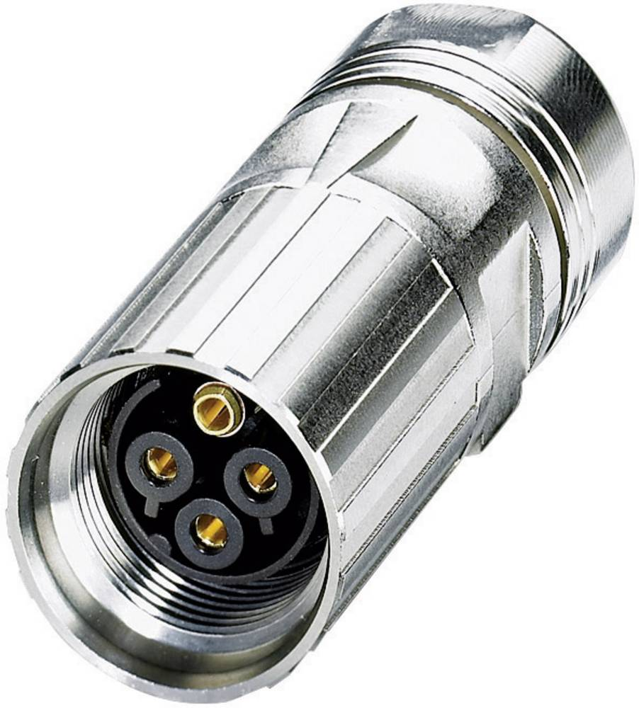 Effektstikforbindelse - power M17 - M P20 Coninvers ST-3ES1N8A8003 Sølv 1 stk