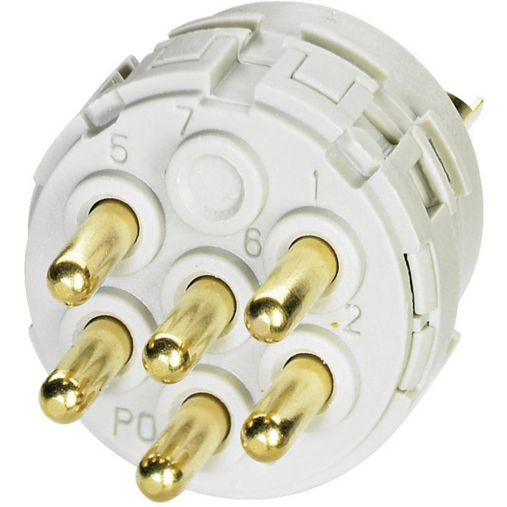 Indstik med loddekontakter for serie RC, UC og TC Coninvers RC-16P1N120000 1 stk