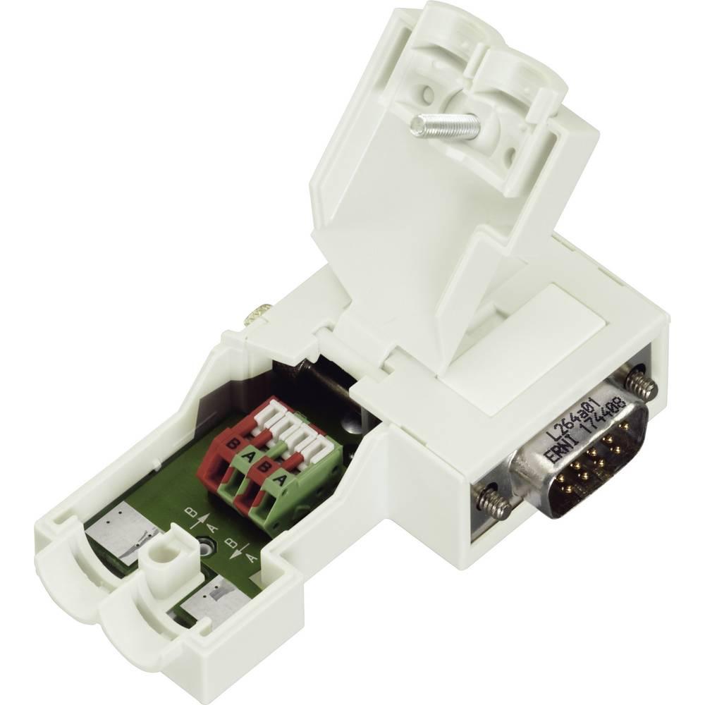 Konektor D-SUB za Profibus št.polov=9 vzmetni 0750-0971 WAGO 750-971