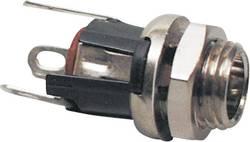Lavspændingsstik Tilslutning, indbygning lodret 5.5 mm 2.1 mm BKL Electronic 072335 1 stk