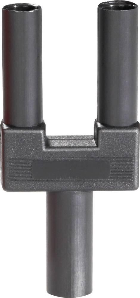 Sikkerhedskortslutningsstik Schnepp SI-FK 19/4 mB sw Stift-diameter: 4 mm 19 mm Sort 1 stk