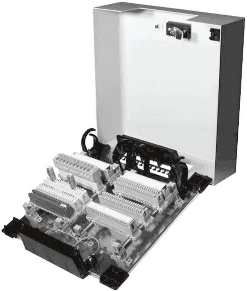 Notranji razdelilnik UniVK, jekleno razdelilno ohišje, 6 x 73 45 75 UniVK 2 ADC Krone vsebuje: 1 kos