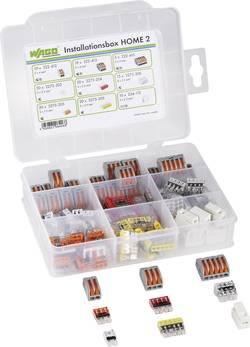 Kopplingsklämma set Flexibel: 1.5-4 mm² Styvhet: 1.5-4 mm² WAGO 887-001/2011-1300 125 delar