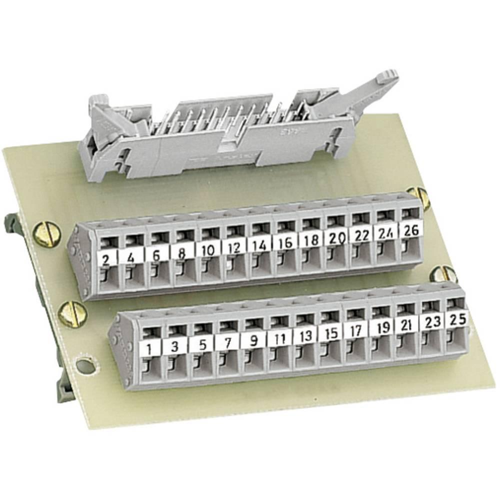 RJ45 vmesniški modul + letev zmoškimi kontakti WAGO 289-405, 0,08-2,5 mm2, vsebina: 1 kos