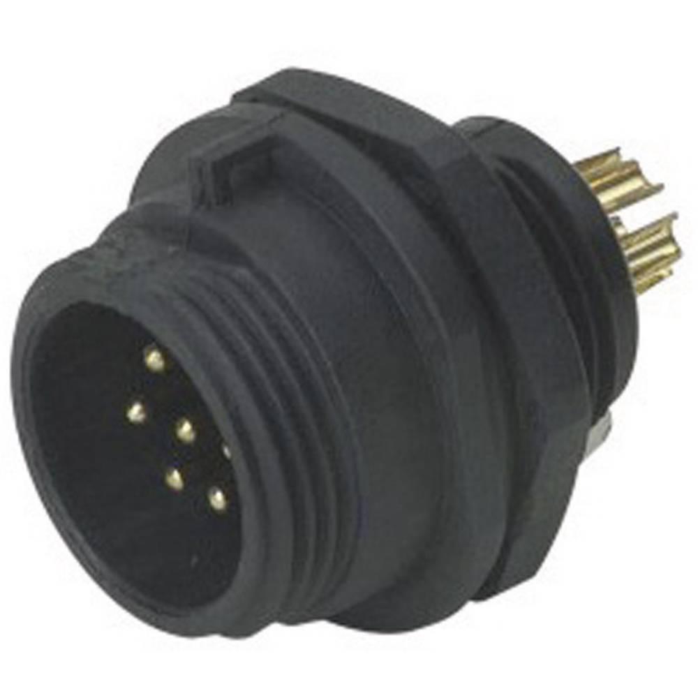 Konektor Weipu serije SP13, SP1312 / P 9 I, IP68, nazivni tok: 3 A, poli: 9, 1 kos