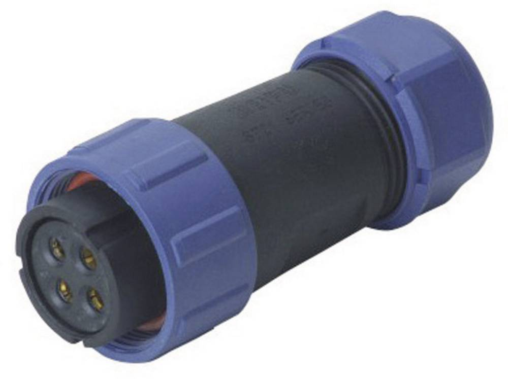 Konektor Weipu serije SP21, SP2110 / S 2 I, IP68, nazivni tok: 30 A, poli: 2, 1 kos