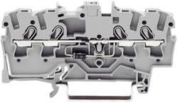 Diodeklemme 4.20 mm Trækfjeder Belægning: L Grå WAGO 2001-1411/1000-411 1 stk