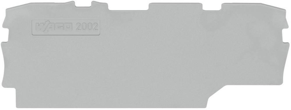 End og mellemliggende plade WAGO 1 stk