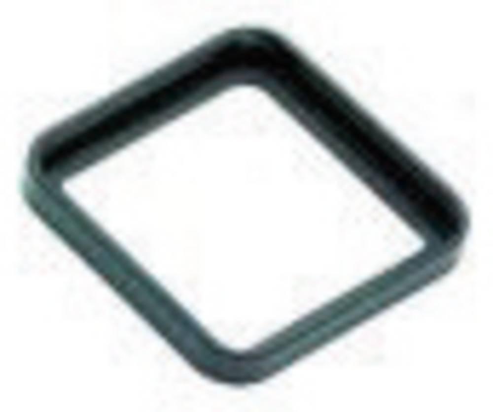 Profil tætning til magnetventil stik byggeri type A Series 210 Binder 16-8088-000 Sort 1 stk