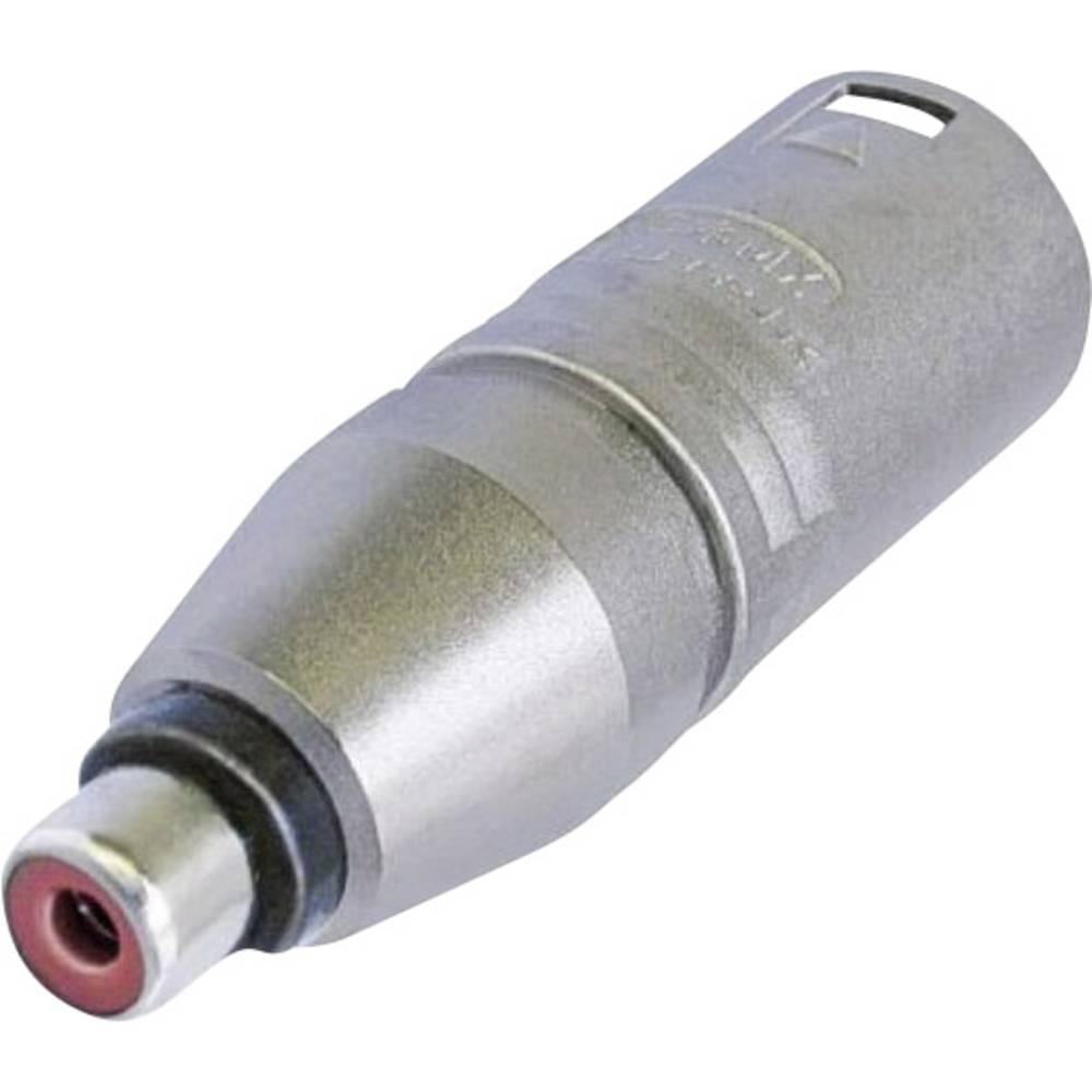 Neutrik NA2MPMF-Adapter, 3-polni moški konektor XLR na ženski činč konektor