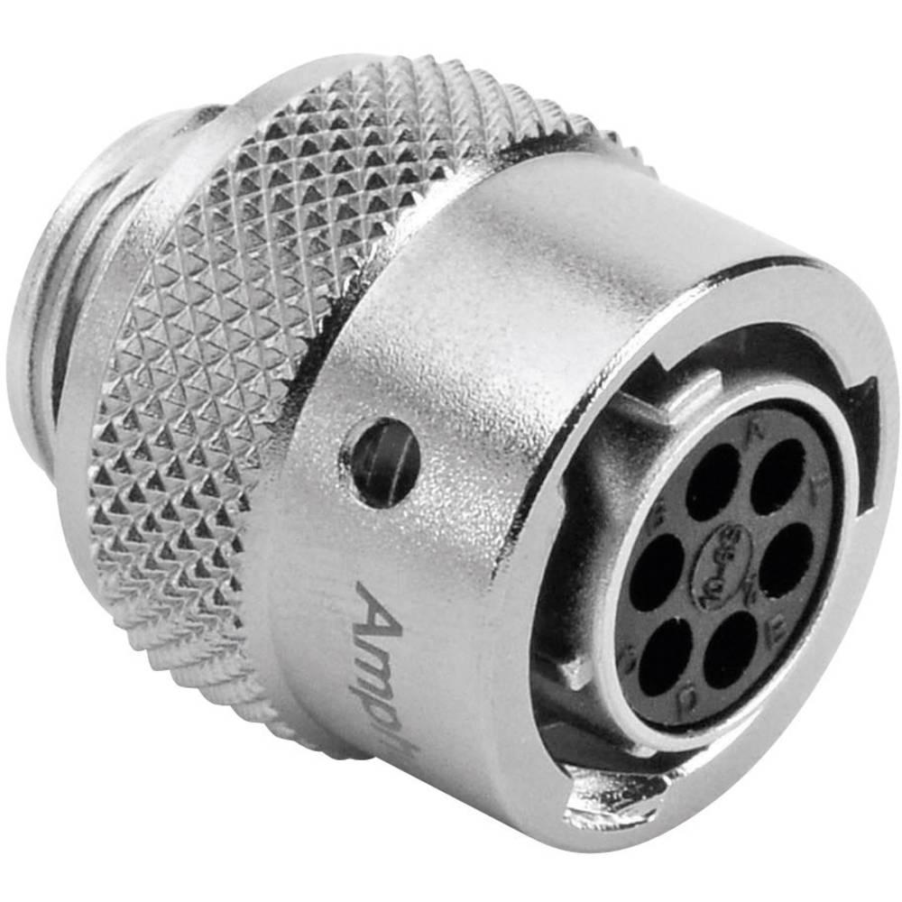 Ženski konektor za kabel Amphenol Tuchel RT0610-6SNH, nazivni tok: 5 A, poli: 6