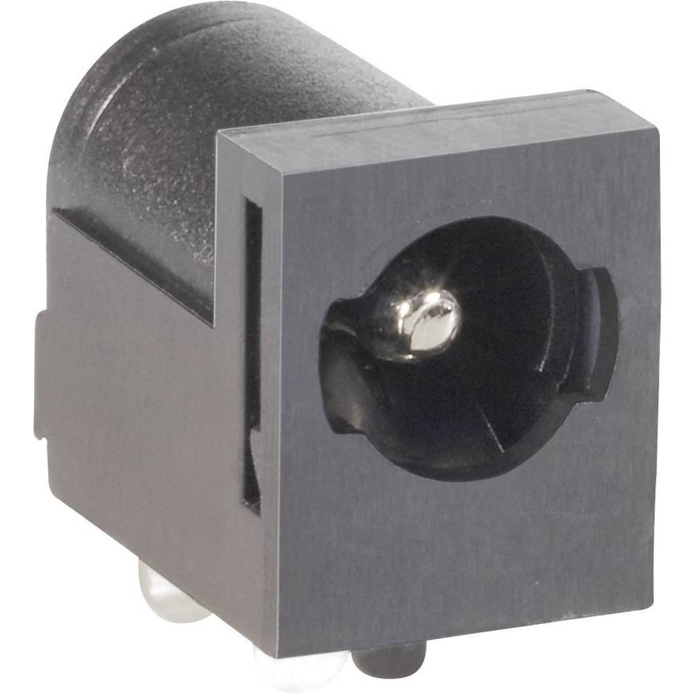 Lavspændingsstik Tilslutning, indbygning vandret 5.5 mm 2.1 mm BKL Electronic 075821 1 stk