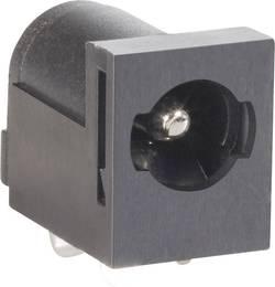 Lavspændingsstik Tilslutning, indbygning vandret 5.85 mm 2.5 mm BKL Electronic 072820 1 stk